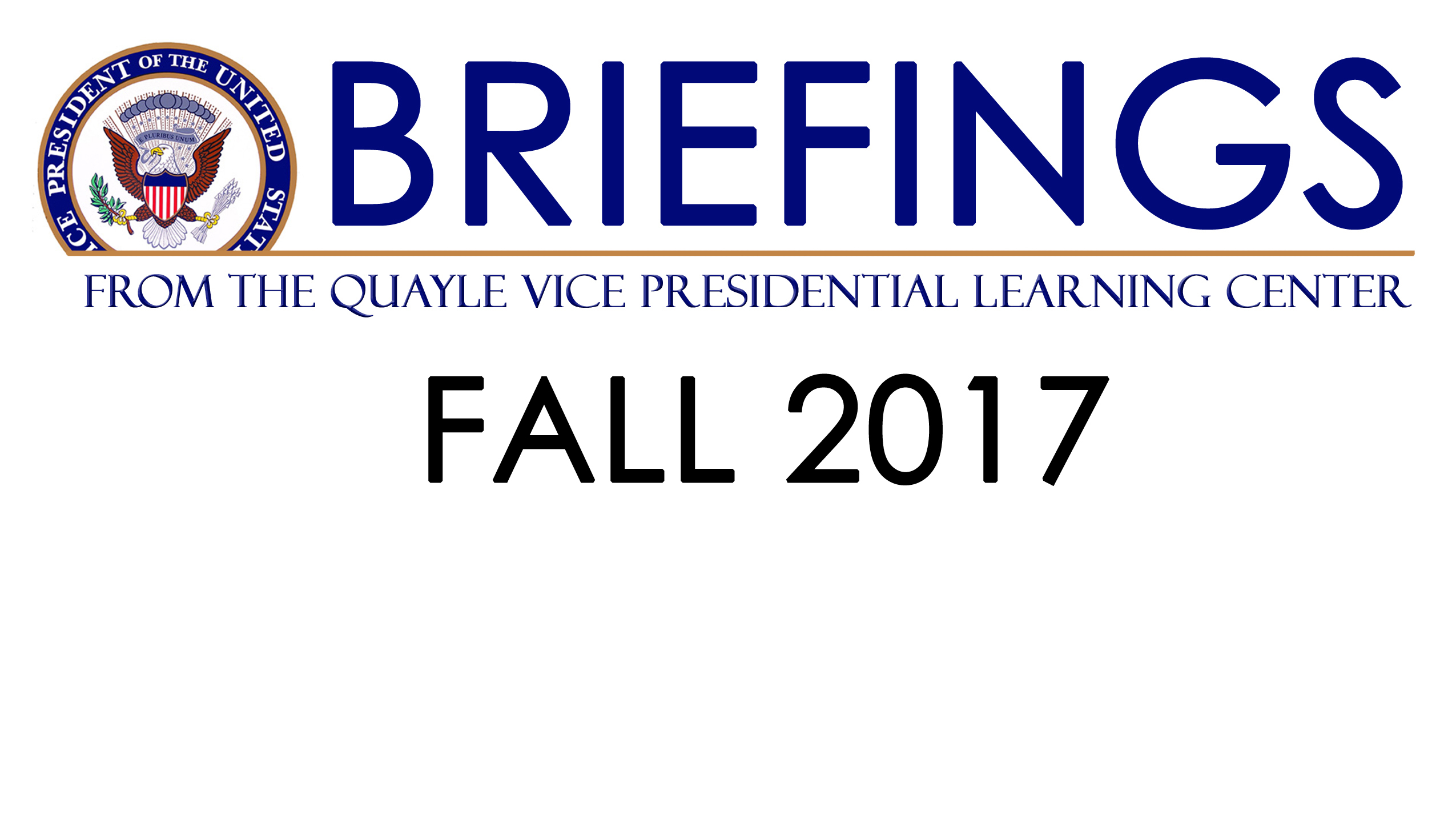 Briefings Graphic Fall 2017